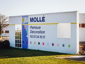 Facade entreprise IITM Molle Peinture Agepro